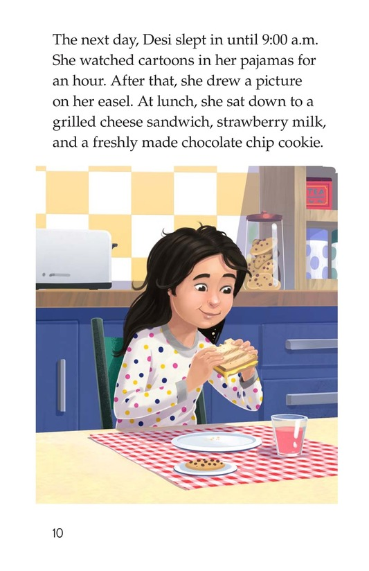Book Preview For I Just Want to Go to School! Page 10