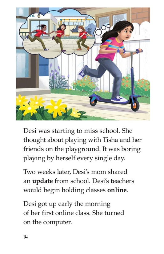 Book Preview For I Just Want to Go to School! Page 14