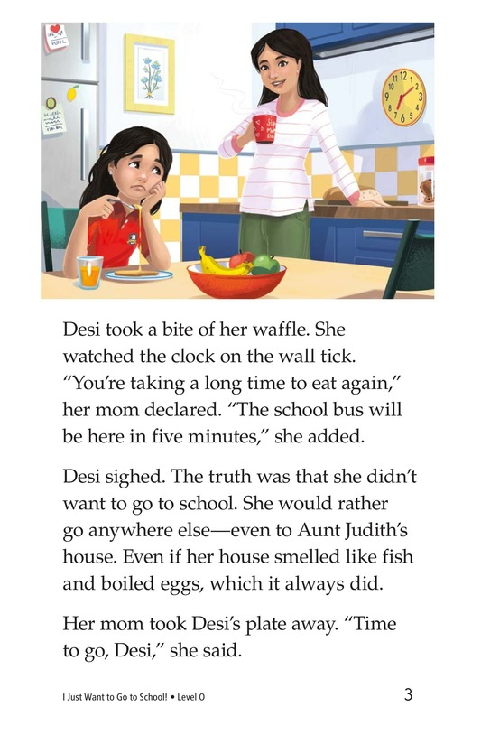 Book Preview For I Just Want to Go to School! Page 3
