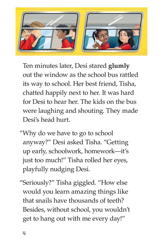 Book Preview For I Just Want to Go to School! Page 4