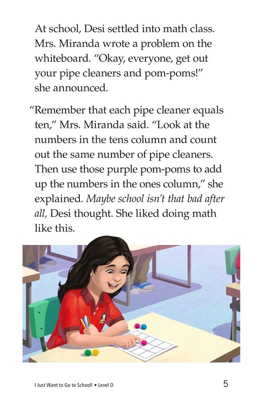 Book Preview For I Just Want to Go to School! Page 5
