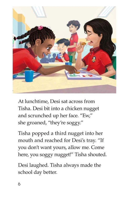 Book Preview For I Just Want to Go to School! Page 6