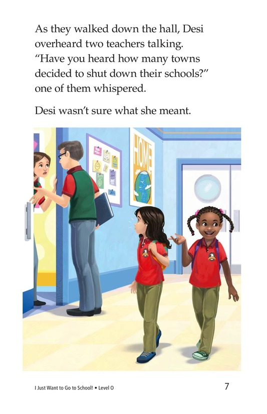 Book Preview For I Just Want to Go to School! Page 7