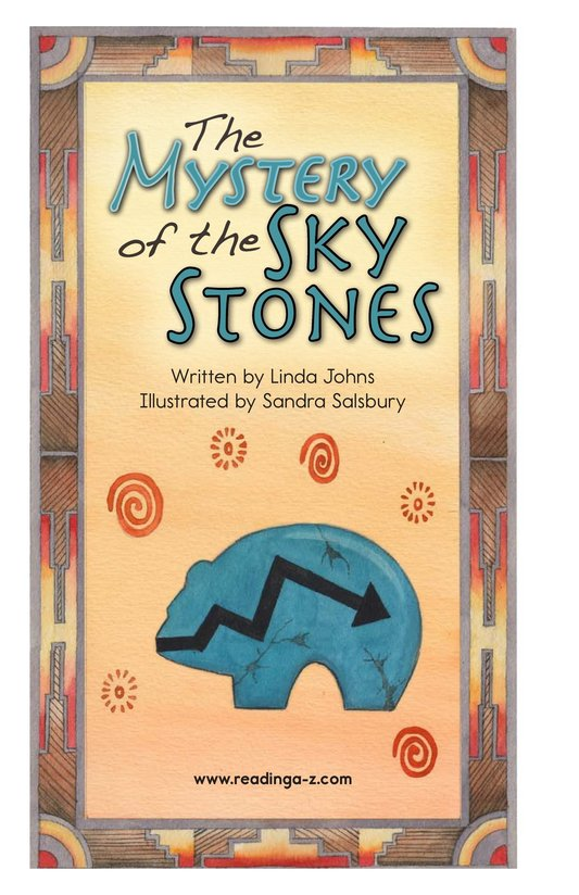 Book Preview For The Mystery of the Sky Stones - Read 2 Page 2
