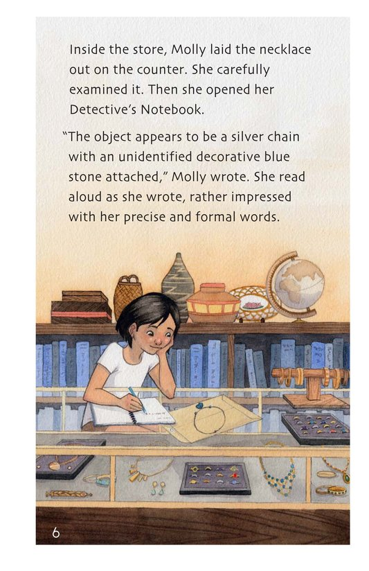 Book Preview For The Mystery of the Sky Stones - Read 2 Page 6
