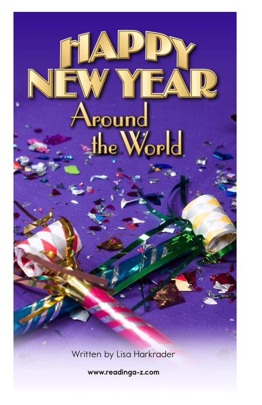 Book Preview For Happy New Year Around the World - Read 2 Page 2