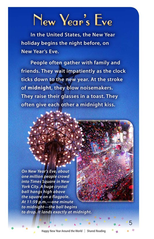 Book Preview For Happy New Year Around the World - Read 2 Page 5