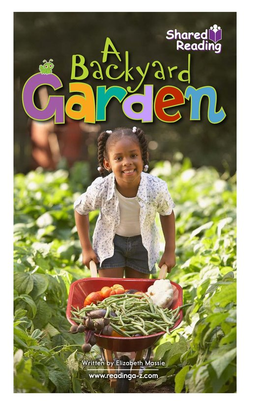 Book Preview For A Backyard Garden - Read 2 Page 1