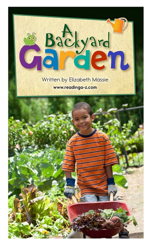 Book Preview For A Backyard Garden - Read 2 Page 2