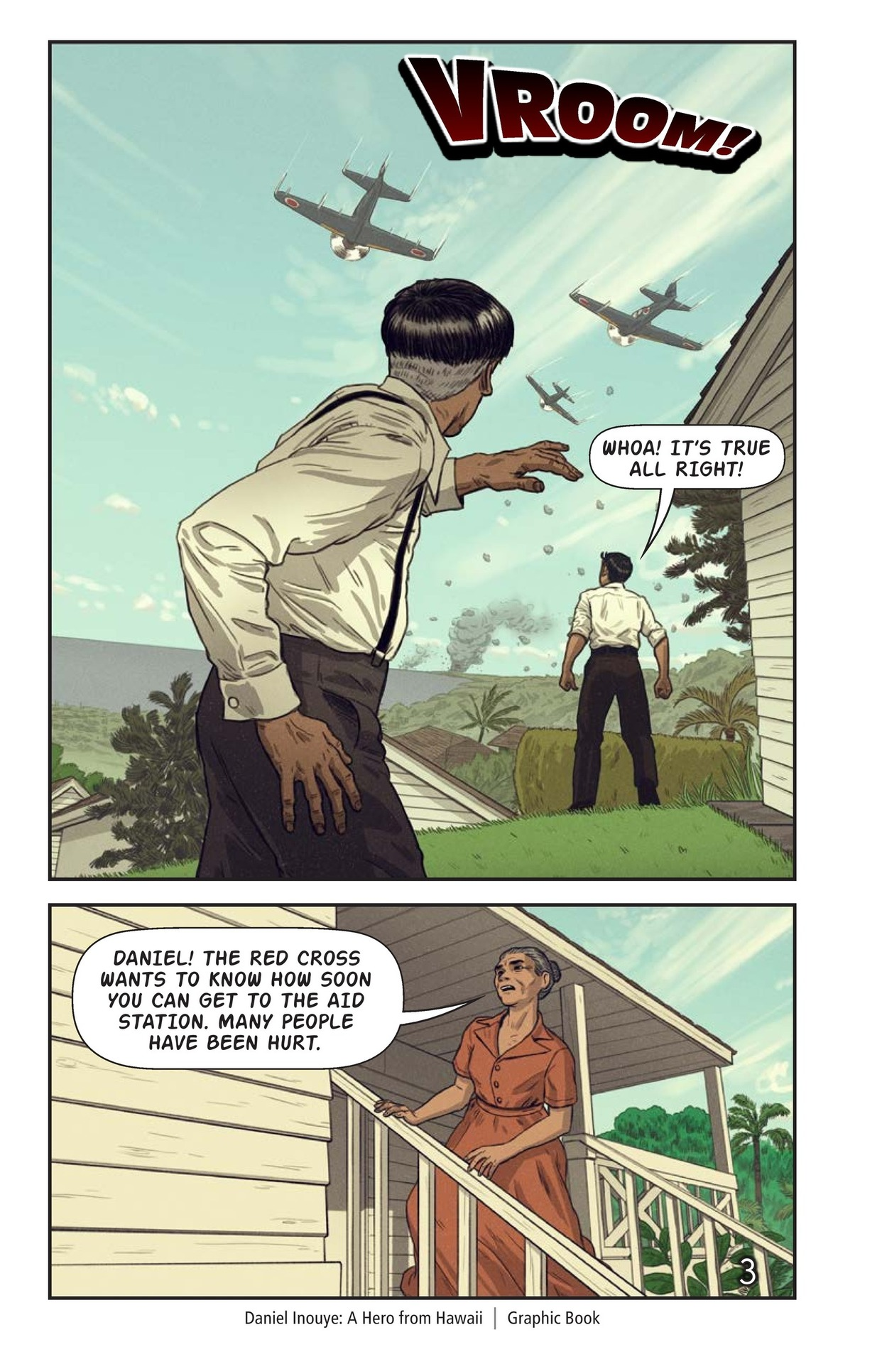 Book Preview For Daniel Inouye: A Hero from Hawaii Page 4