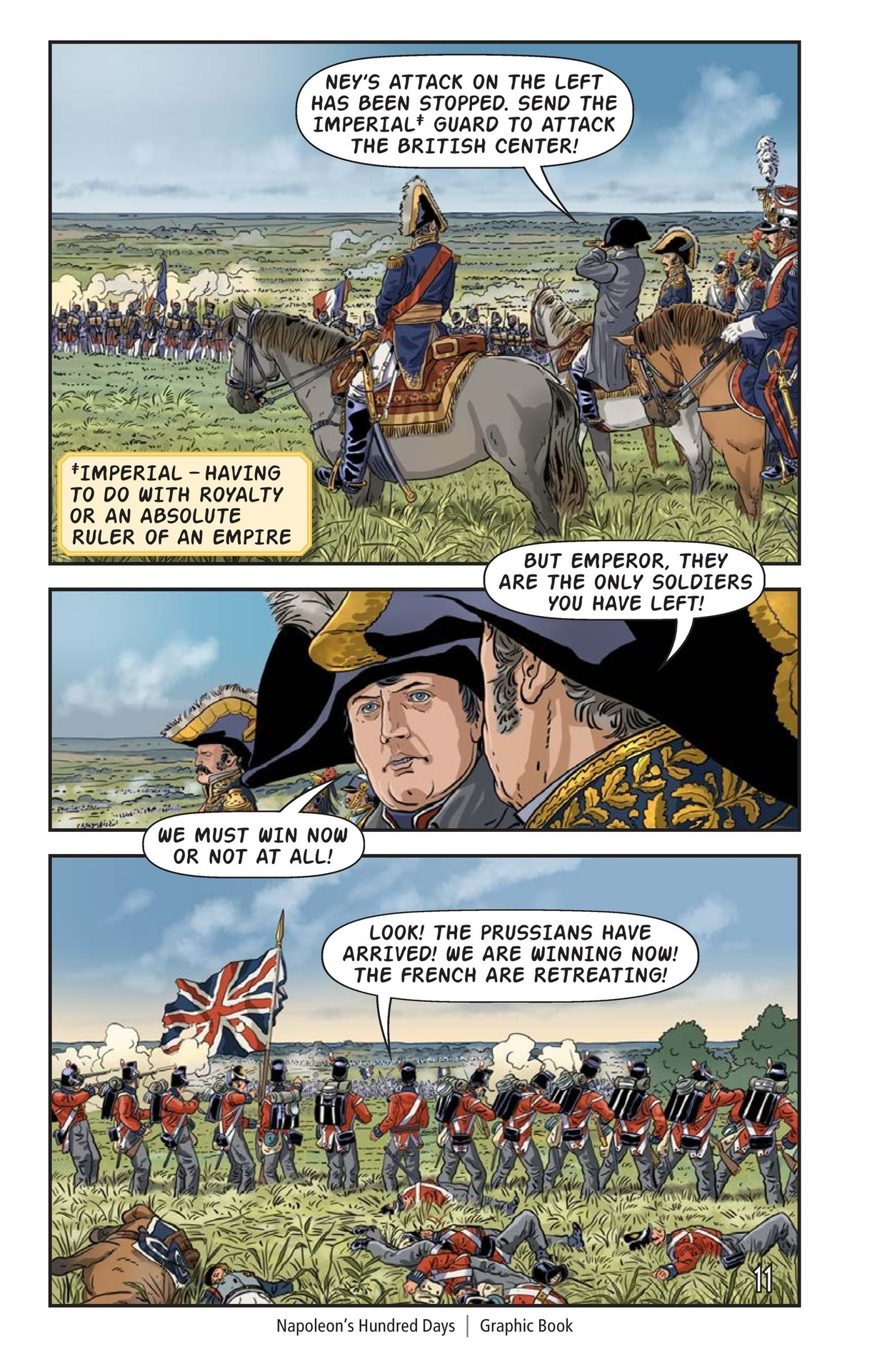 Book Preview For Napoleon's Hundred Days Page 12