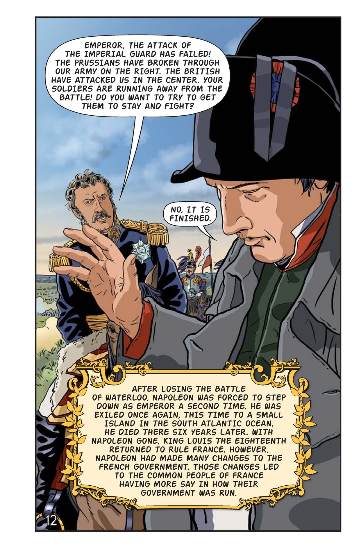 Book Preview For Napoleon's Hundred Days Page 13