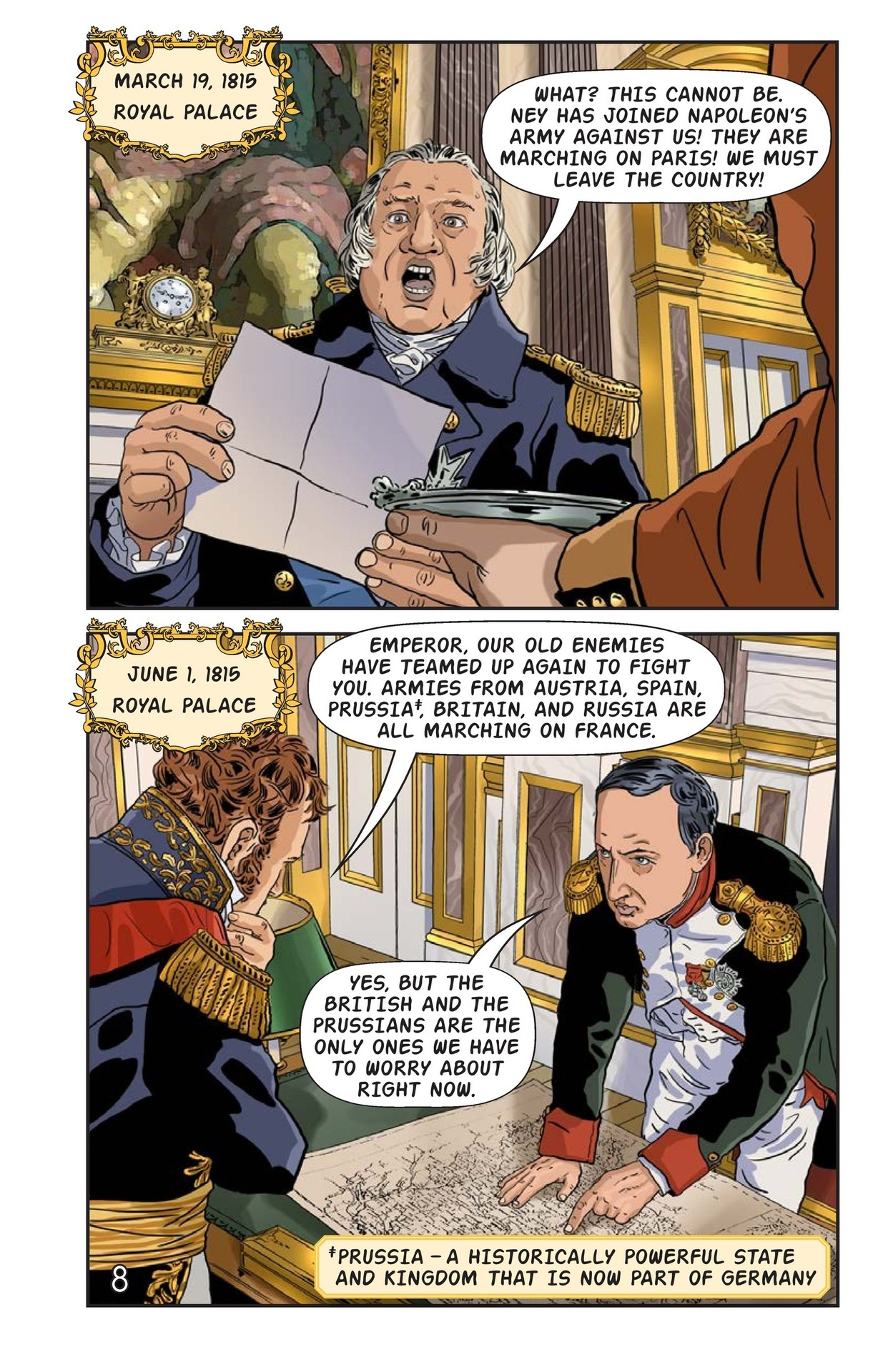 Book Preview For Napoleon's Hundred Days Page 9