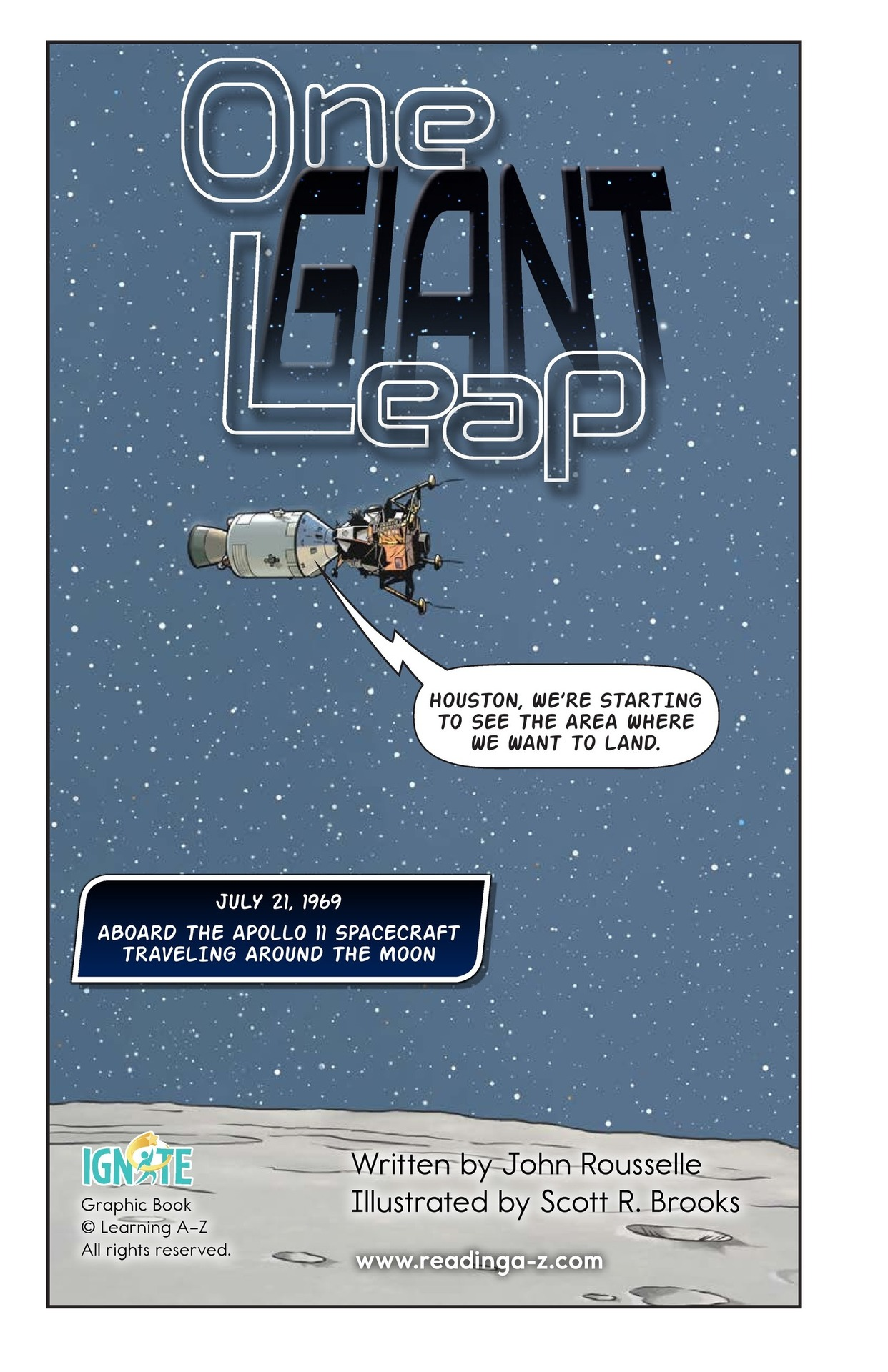 Book Preview For One Giant Leap Page 2