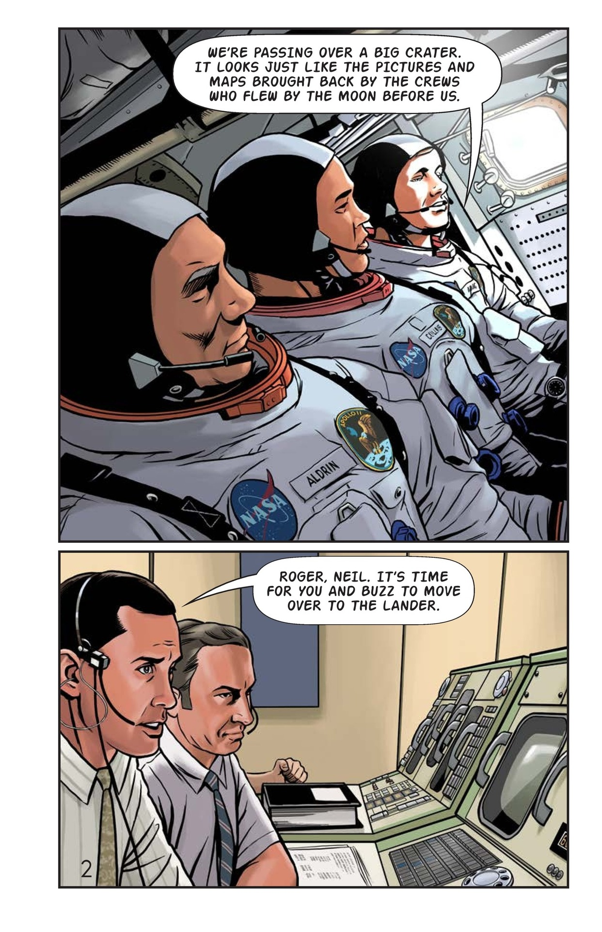 Book Preview For One Giant Leap Page 3