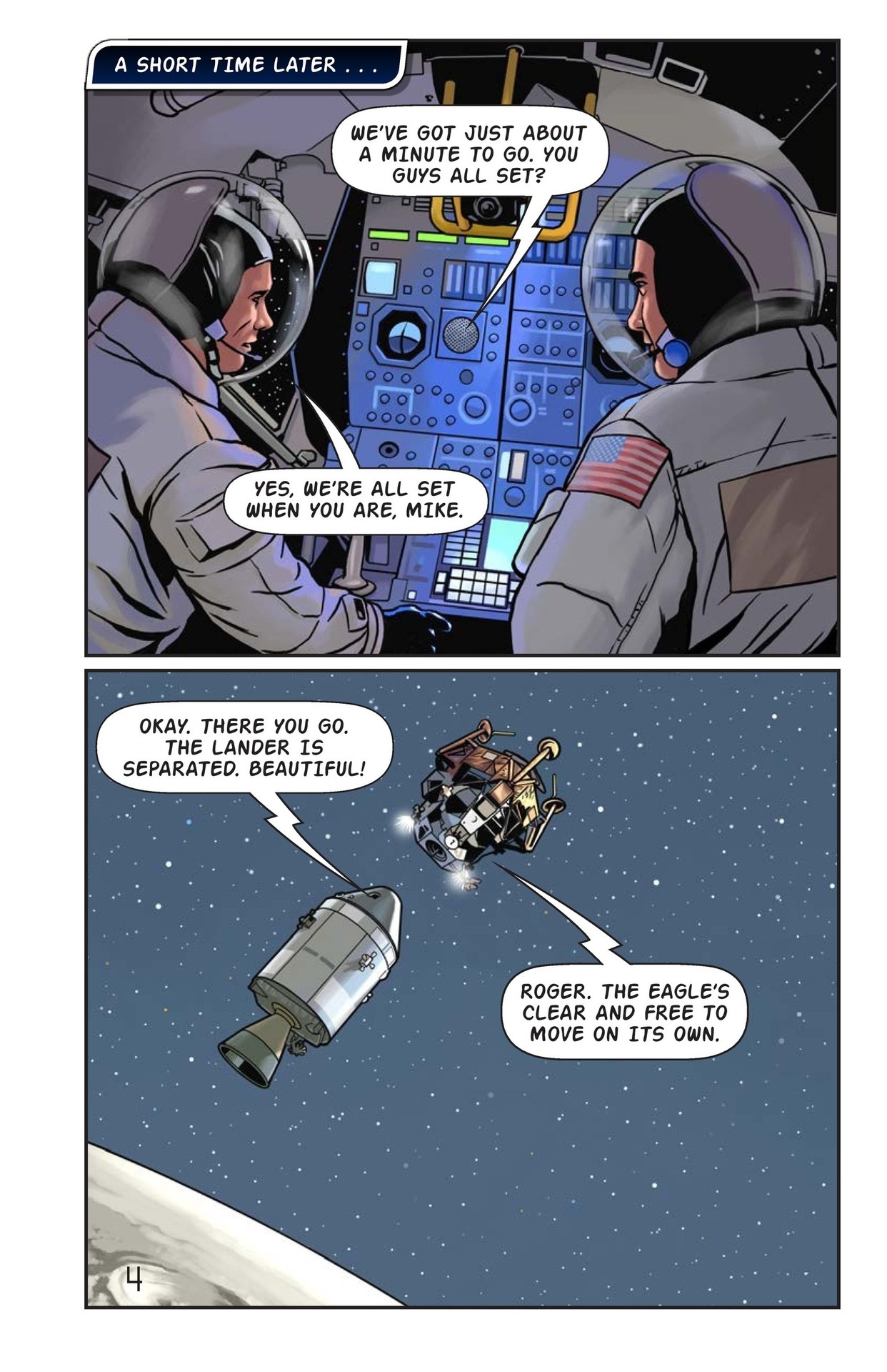 Book Preview For One Giant Leap Page 5