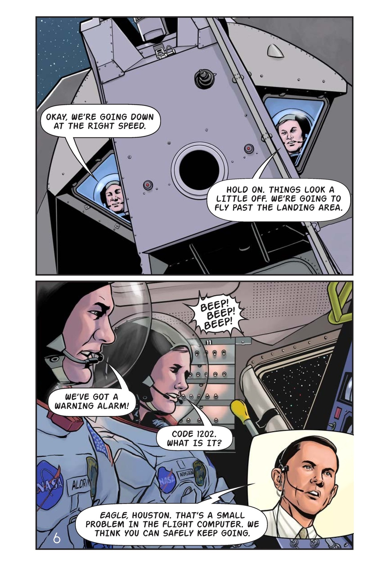 Book Preview For One Giant Leap Page 7