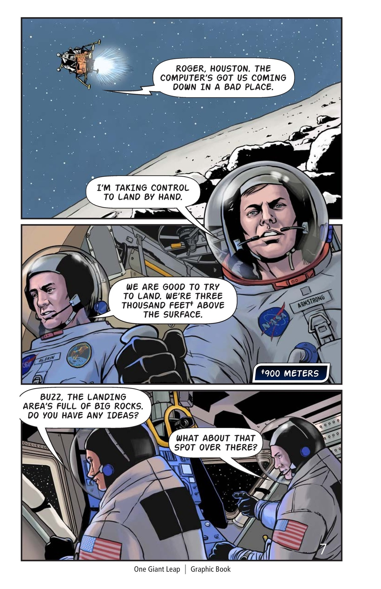 Book Preview For One Giant Leap Page 8