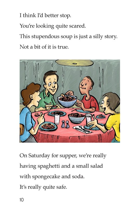Book Preview For A Super Special Soup Page 10
