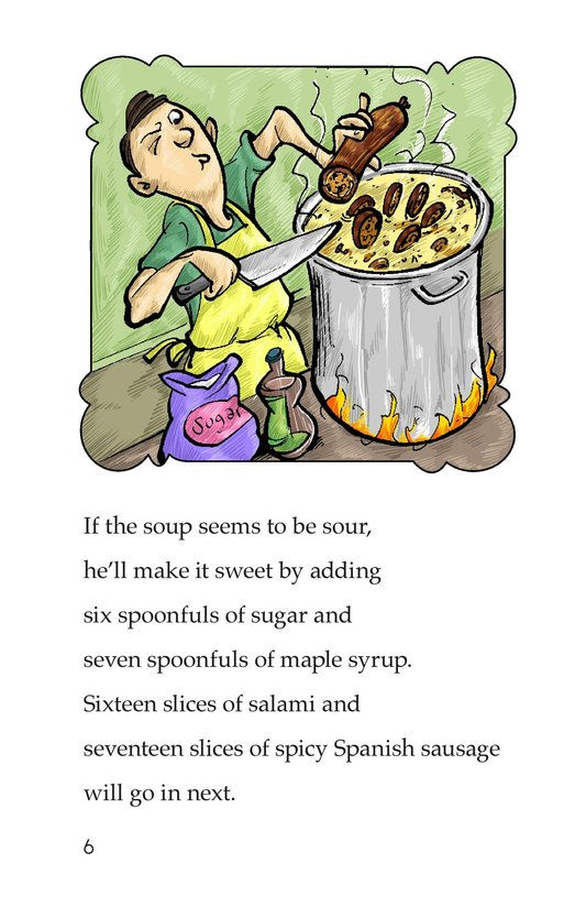 Book Preview For A Super Special Soup Page 6
