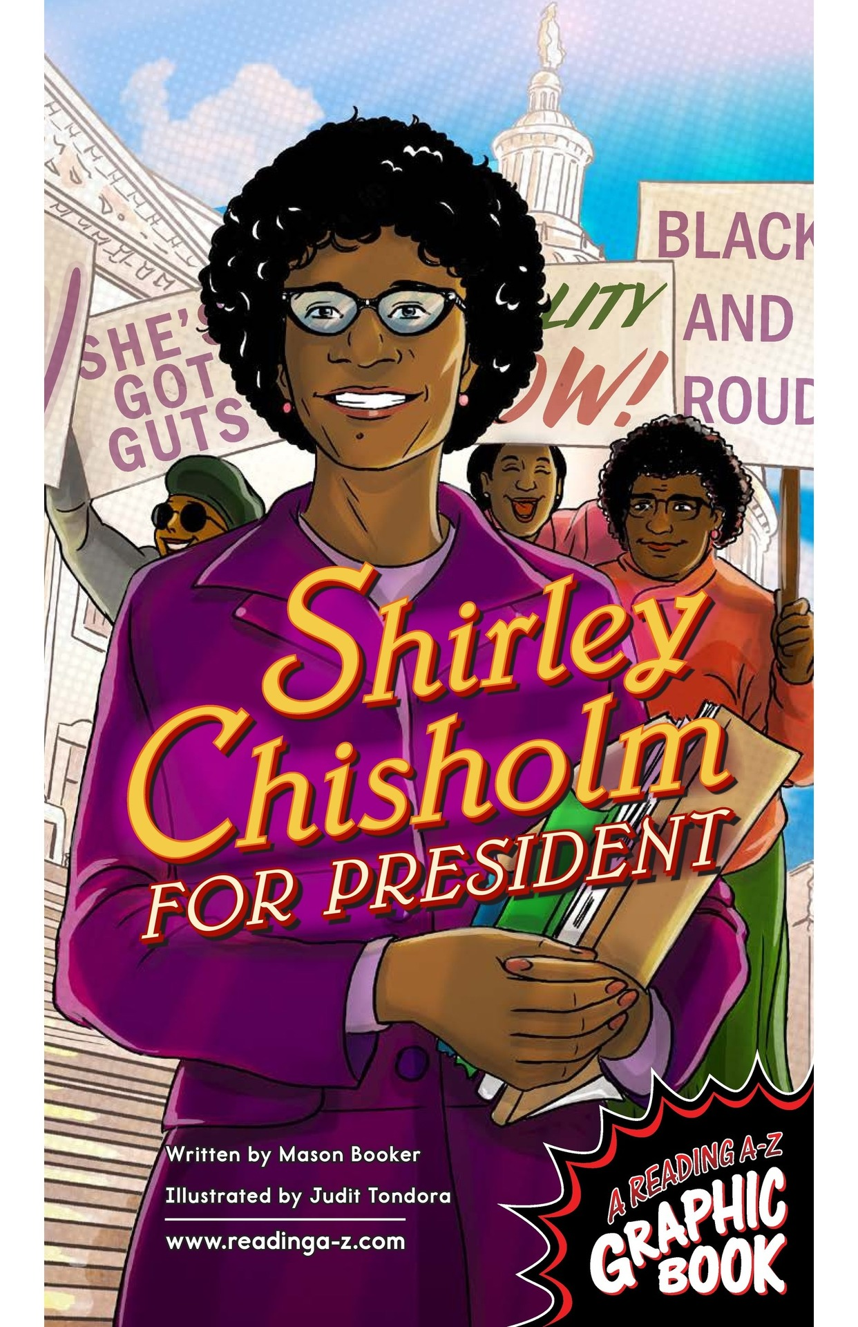 Book Preview For Shirley Chisholm for President Page 1