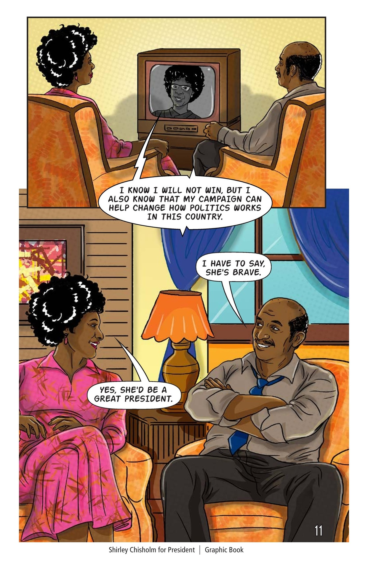 Book Preview For Shirley Chisholm for President Page 12