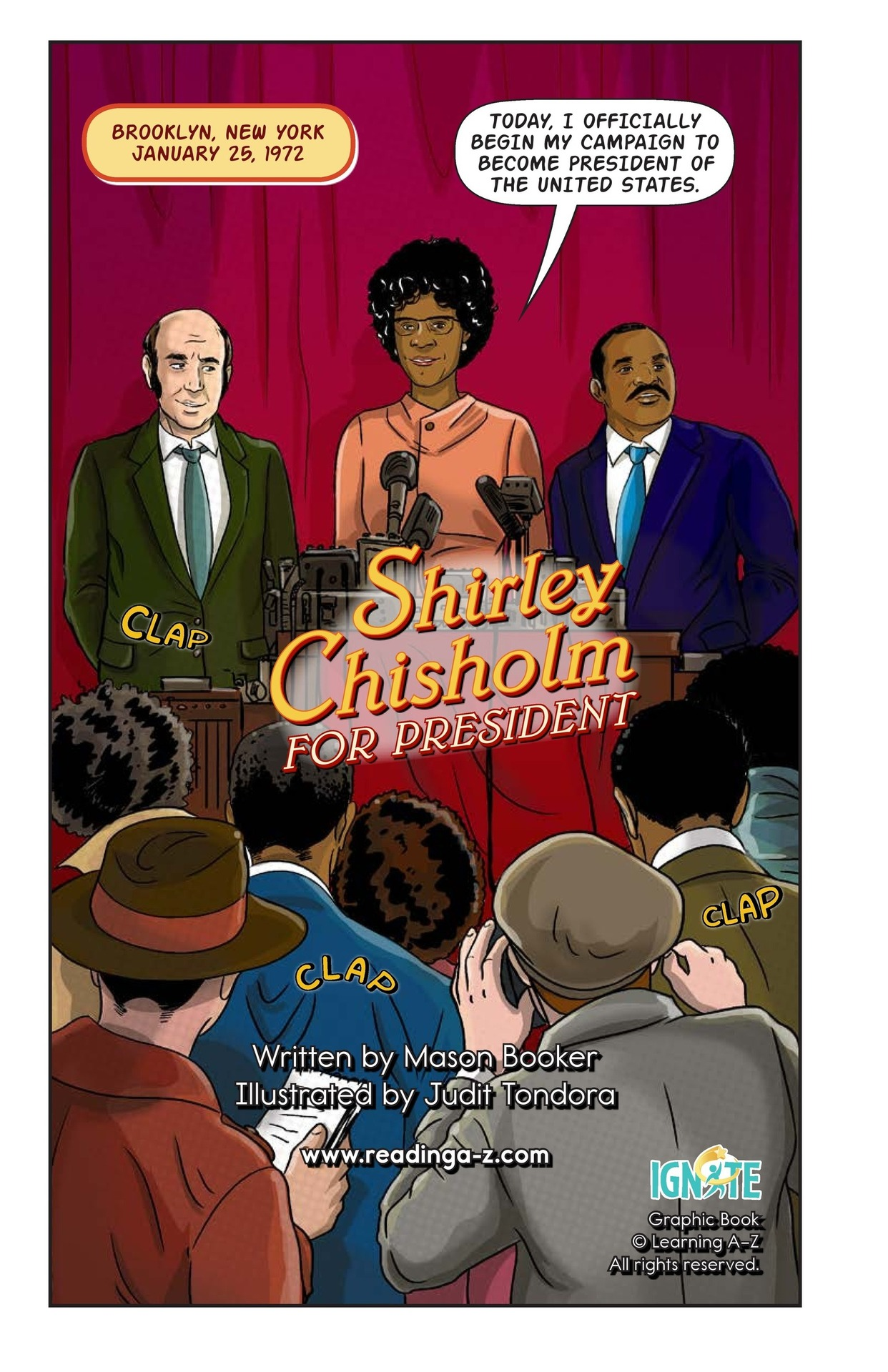 Book Preview For Shirley Chisholm for President Page 2