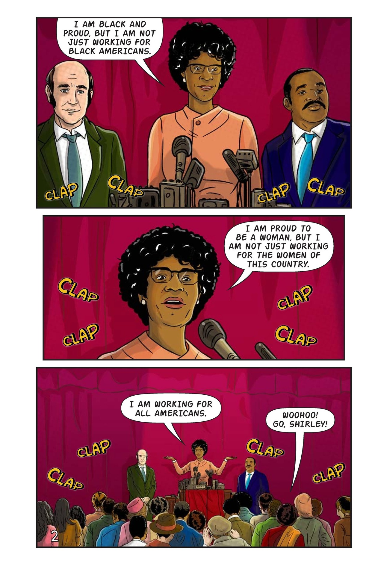 Book Preview For Shirley Chisholm for President Page 3