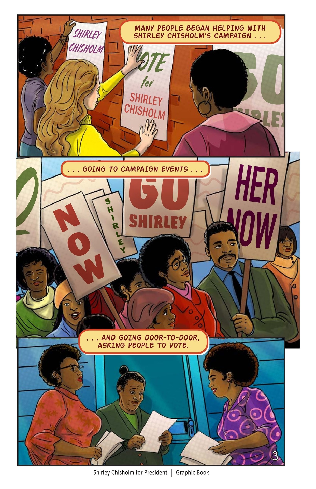 Book Preview For Shirley Chisholm for President Page 4