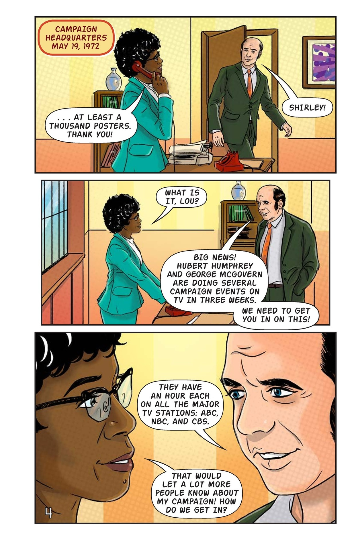 Book Preview For Shirley Chisholm for President Page 5