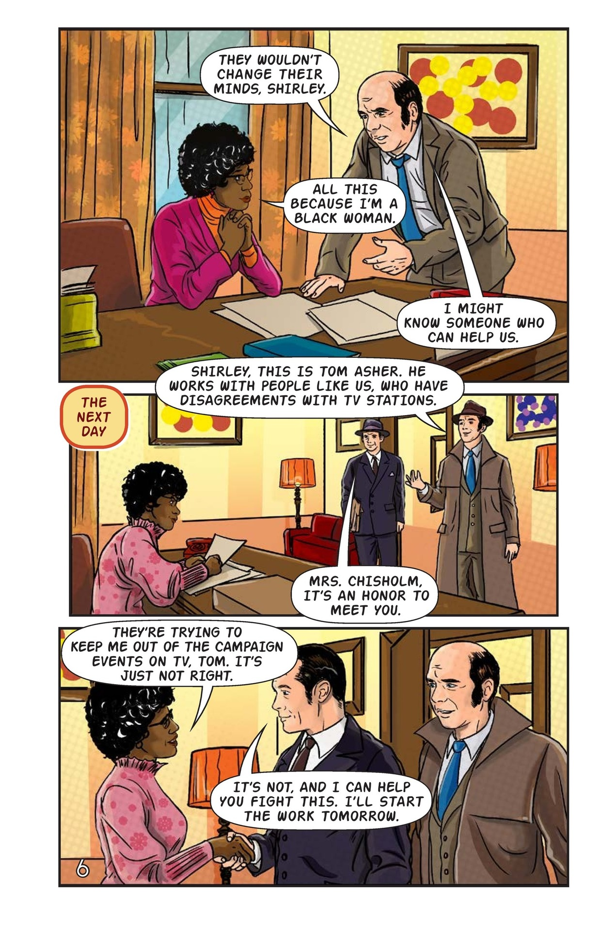 Book Preview For Shirley Chisholm for President Page 7