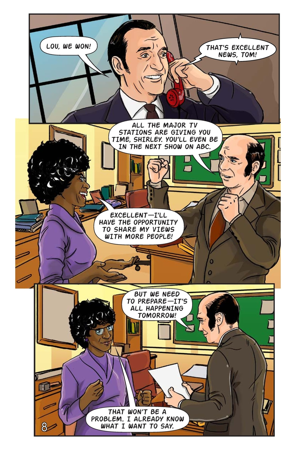 Book Preview For Shirley Chisholm for President Page 9