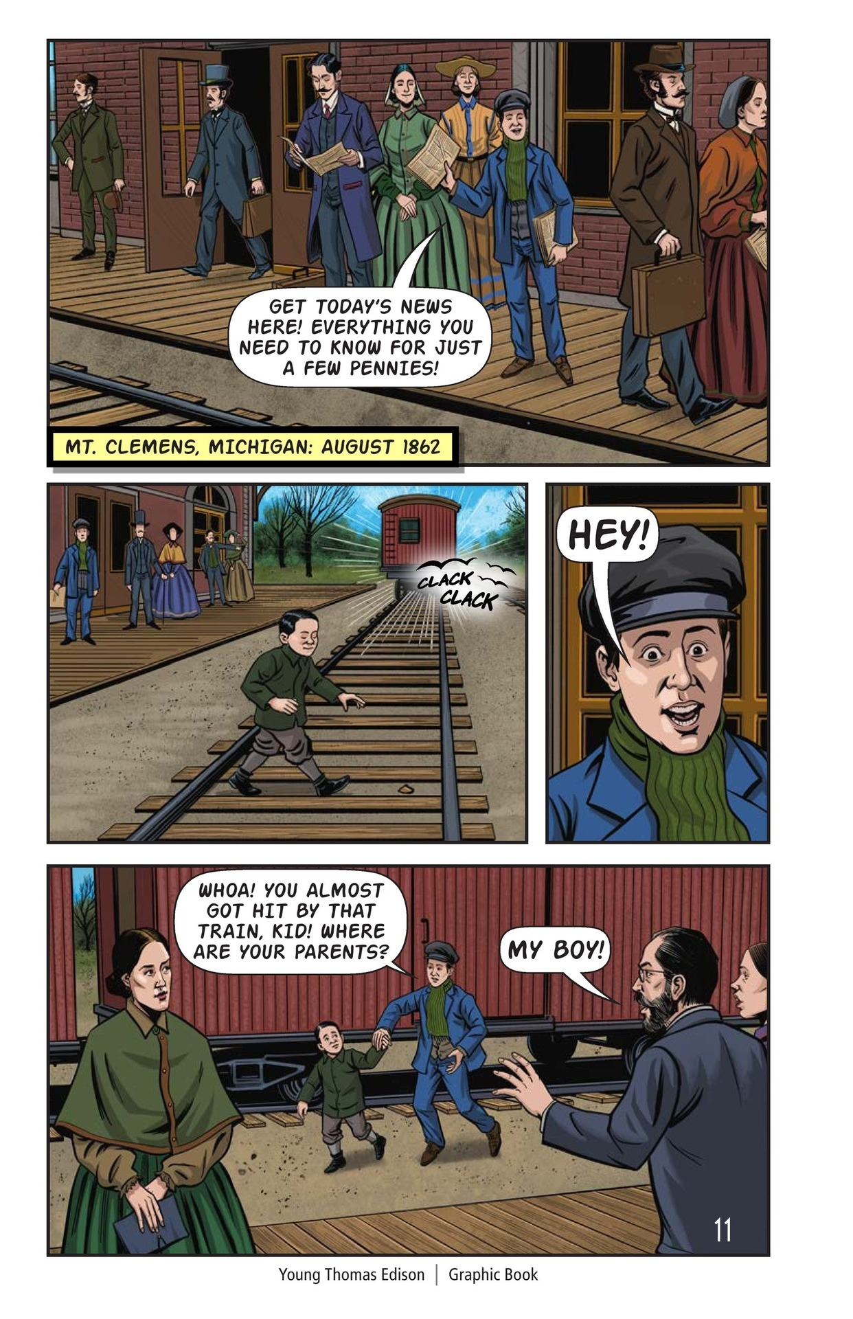 Book Preview For Young Thomas Edison Page 12