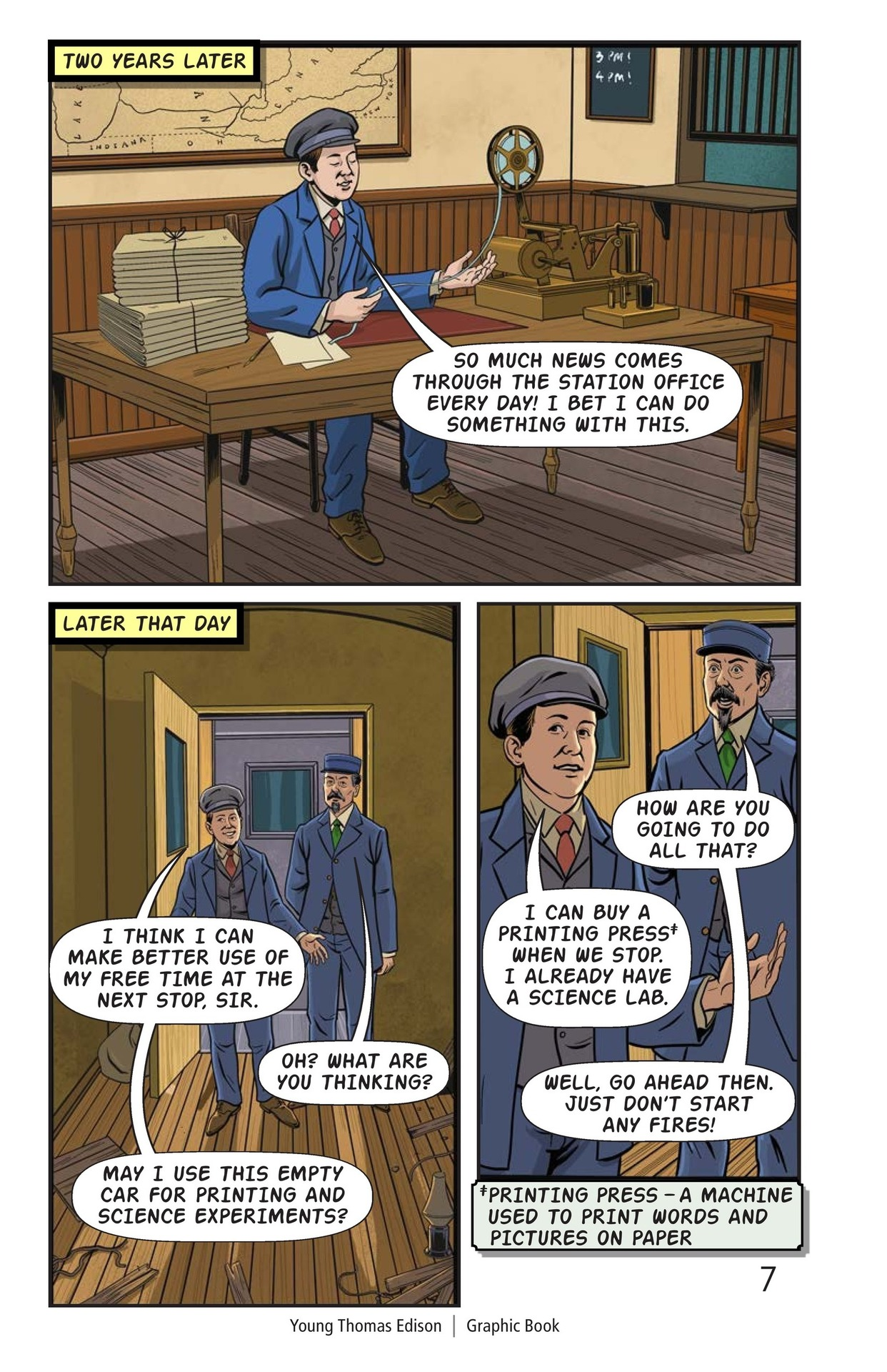 Book Preview For Young Thomas Edison Page 8