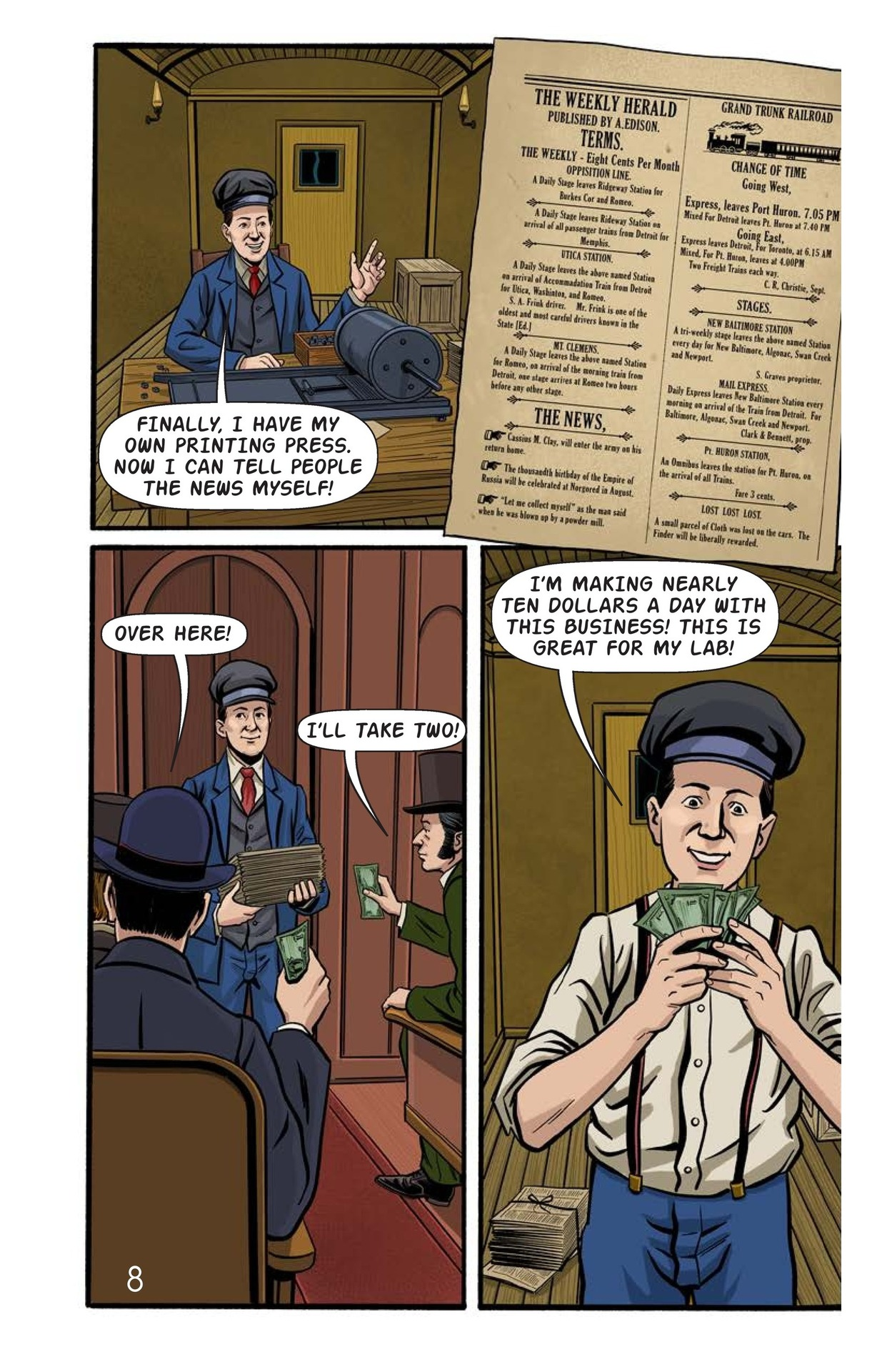 Book Preview For Young Thomas Edison Page 9