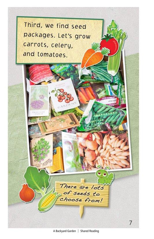 Book Preview For A Backyard Garden - Read 3 Page 7