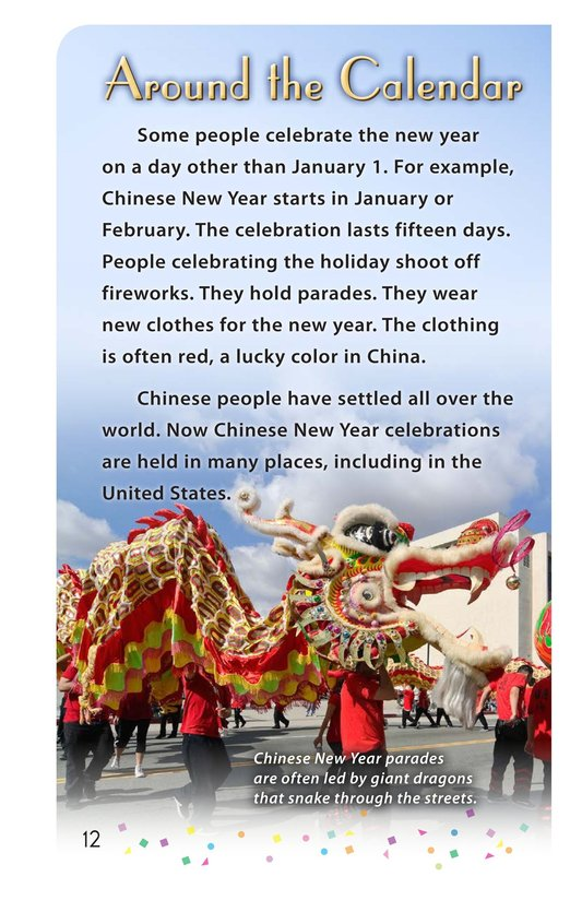 Book Preview For Happy New Year Around the World - Read 3 Page 12