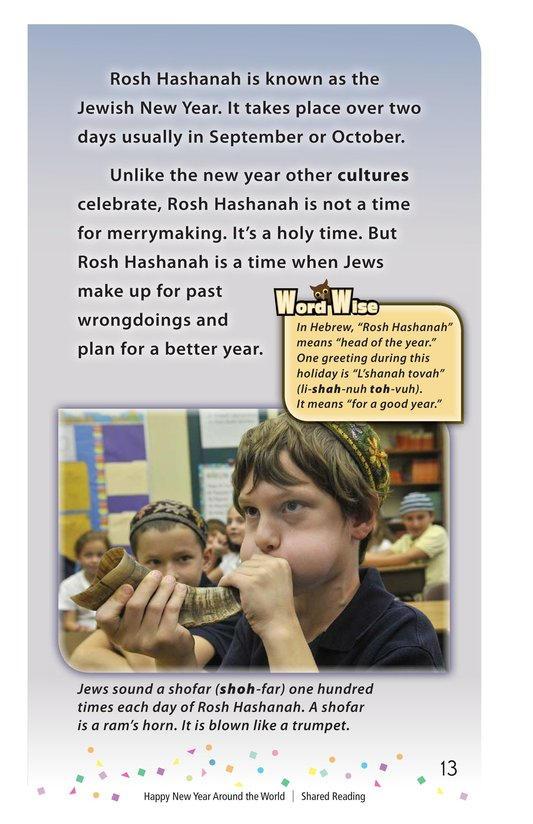Book Preview For Happy New Year Around the World - Read 3 Page 13