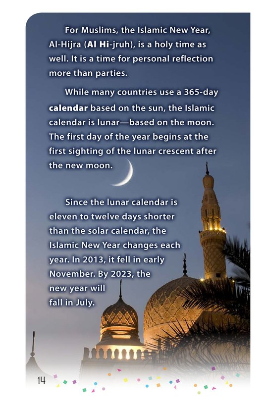 Book Preview For Happy New Year Around the World - Read 3 Page 14