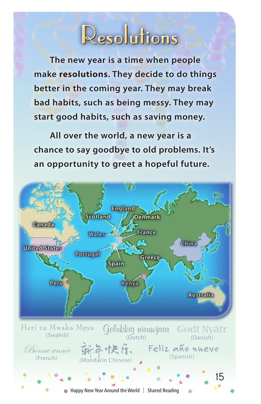 Book Preview For Happy New Year Around the World - Read 3 Page 15
