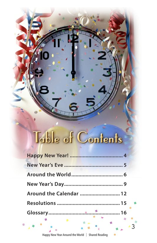 Book Preview For Happy New Year Around the World - Read 3 Page 3