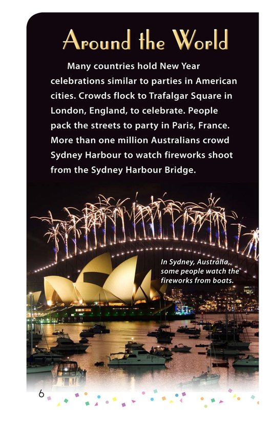 Book Preview For Happy New Year Around the World - Read 3 Page 6