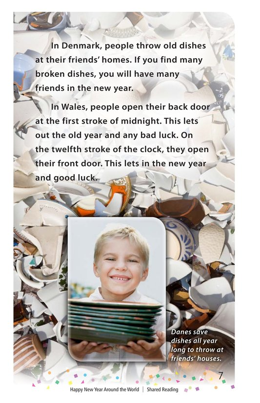 Book Preview For Happy New Year Around the World - Read 3 Page 7