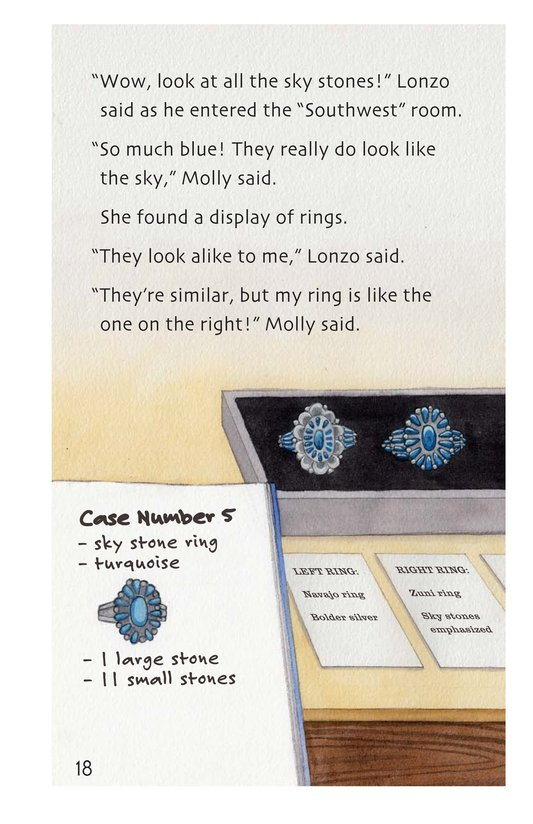Book Preview For The Mystery of the Sky Stones - Read 3 Page 18