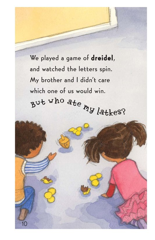 Book Preview For Who Ate My Latkes? - Read 3 Page 10