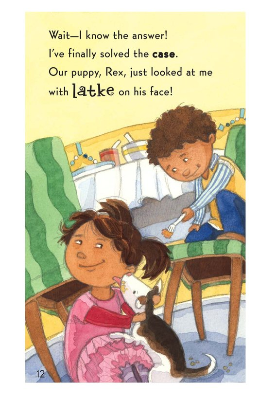 Book Preview For Who Ate My Latkes? - Read 3 Page 12