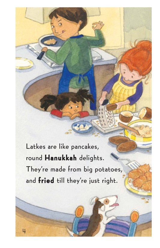 Book Preview For Who Ate My Latkes? - Read 3 Page 4