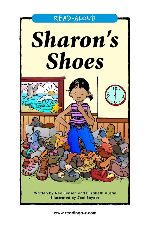 Book Preview For Sharon's Shoes Page 1
