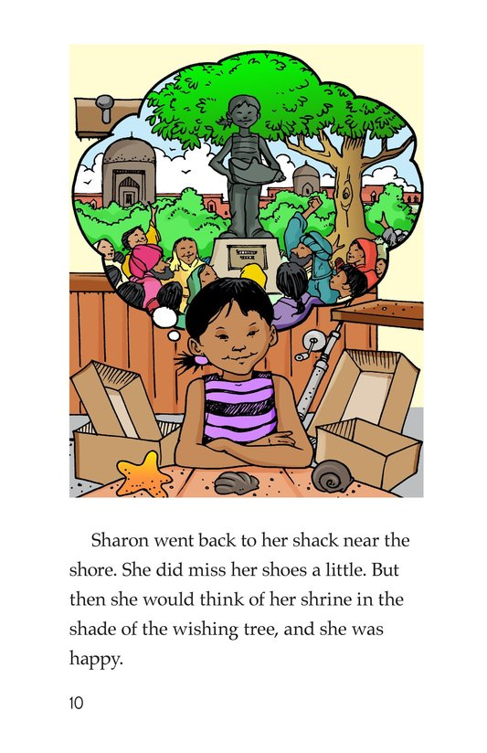 Book Preview For Sharon's Shoes Page 10
