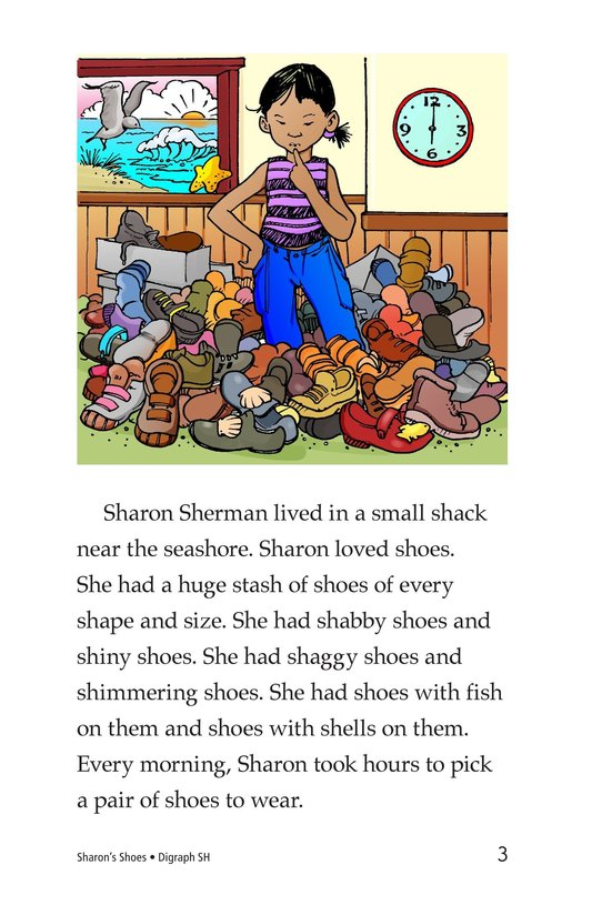 Book Preview For Sharon's Shoes Page 3